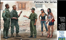 PLASTIC MODEL KIT SOMEWHERE IN SAIGON, VIETNAM WAR SERIES 1/35 MASTER BOX 35185