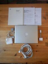 Apple Powerbook G4 Notebook Laptop mit Zubehör