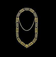 Masonic Collar GRAND LODGE METAL CHAIN DMR-100G