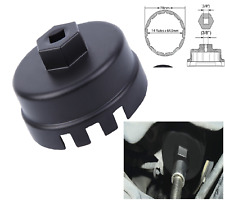 64MM 14 Flute Oil Filter Wrench Cap Tool Fit Toyota Lexus Scion 2.5-5.7L Engines