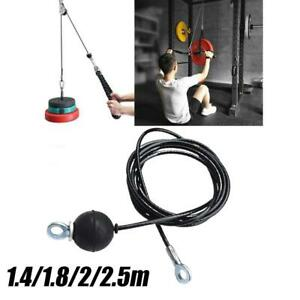 Adjustable Home Fitness Pulley Cable Length Heavy Duty Steel Wire Ropes