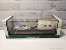Hongwell 1:43 Cararama Mercedes-Benz 280 SL Roadster + Wohnwagen #38478#