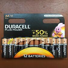 12 x Pilas alcalinas Duracell AA Más Potencia de LR6, MN1500 Más Larga Caducidad UK