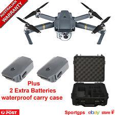 DJI MAVIC PRO DRONE 4K CAMERA + 2 EXTRA Batteries + Waterproof Carry Case