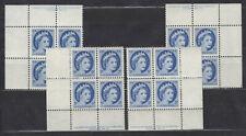 1954 #341 5¢ NF QUEEN ELIZABETH II WILDING PORTRAIT PLATE BLOCK #10 F-VFNH