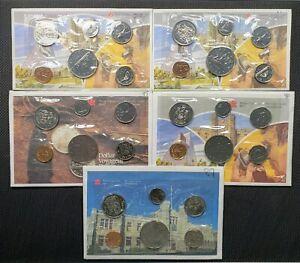 Canada 1983 1984 1985 1986 1987 Proof Like Uncirculated Mint Set Lot
