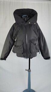 Adidas Stella McCartney Dark Grey Winter Sports Ski RECCO Jacket size 36 UK 8 10