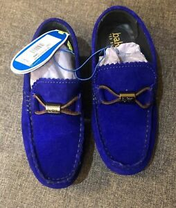 Ted Baker boys suede slip on shoes new with tags uk size 12 eur 31