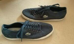 Lacoste Schuhe Stoff Gr. 44