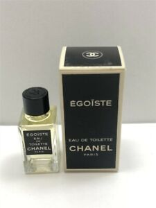 Egoiste by Chanel 0.13 oz/4 ml Eau de Toilette Mini Splash Men, Old Formula!