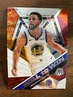Stephen Curry 2019-20 Panini Mosaic Will to Win Insert Base Card WARRIORS