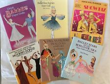 Set Of Six VTG TOM TIERNEY & Other Doll Books Ballet Dance Showbiz Uncut Intact