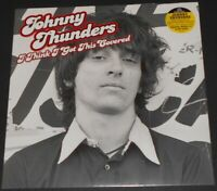 JOHNNY THUNDERS i think i got this covered LP new NEW YORK DOLLS heartbreakers
