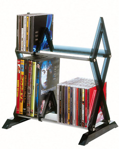 Media Shelf Tower DVD rack storage CD organizer stand Display holder Brand New