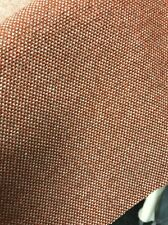 Premium Upholstery Weight Fabric Tweed Orange Check