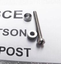 Charter Arms Wood Grip Screw & Escutcheon Stainless Set CHSCE 3 ship Free!