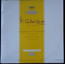 DGG 18013 LPM 1955 GERMANY TCHAIKOVSKY PIANO CONC 1 CHERKASSKY LUDWIG EX+ COND