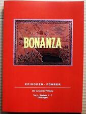 BONANZA - Episodenführer Teil 1: Staffeln 1-7 / 36 Seiten