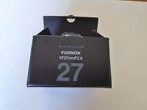 Fujinon XF27mm F2.8 Lens – Excellent Condition A+