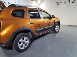 DACIA DUSTER 2017 - 2018 SIDE DOOR CLADDINGS ABS  PLASTIC GRAINED - 2025BC001N