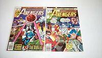 Avengers # 169 & 170 (Marvel)1978 -- BLACK PANTHER/KORVAC SAGA prt 3 -- FN/FN+