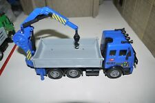 """DICKIE TOYS PLASTIC RECYCLING CRANE TRUCK 7"""""""