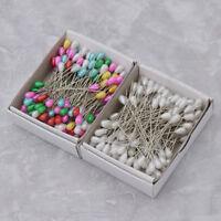 144pcs Bead Pins Sewing Needles Pearl Head Multicolor Dressmaking Pin DIY Craft