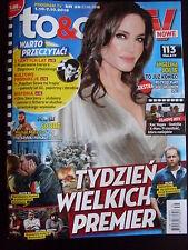 ANGELINA JOLIE on front cover Polish Magazine TO & OWO TV 39/2016