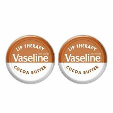 2 x Vaseline Lip Therapy Cocoa Butter 20g
