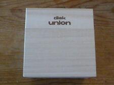 Beatles:SHM Wood Disk Union Empty Promo Box 9cm [Japan Mini-LP no cd mccartney Q