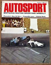 Autosport August 1st 1969 *Jensen FF 4WD Road Test*