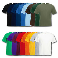 5er/10er Fruit of the Loom T-Shirt Herren Shirts Valueweight Sets Tshirt S - XXL