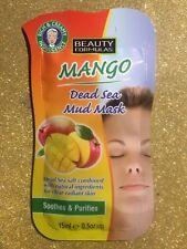 BEAUTY FORMULAS MANGO Dead Sea Mud Mask for clear radiant skin 15 ml