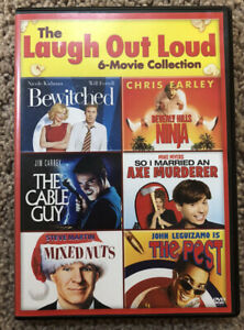 The Laugh Out Loud 6-Movie Collection (3 DVD Set) In Excellent Condition!!!