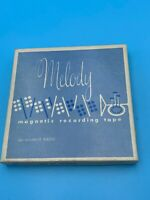 """MELODY MAGNETIC RECORDING TAPE 166 1/4"""" 600 FT."""