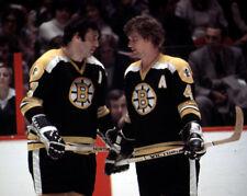 BOBBY ORR & PHIL ESPOSITO Boston Bruins 8x10 Photo