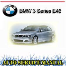 BMW 3 Series E46 1999-2005 SERVICE REPAIR MANUAL ~ DVD