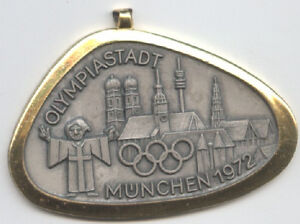 Orig.remembrance medal    Olympic Games MÜNCHEN 1972  !!  VERY RARE
