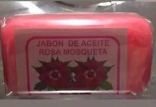 NUEVO JABON DE ACEITE ROSA MOSQUETA ,ROSE HIP OIL SOAP  VITAMIN E & A