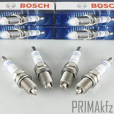 4x BOSCH FR7LDC+ Zündkerzen 0242235668 Super Plus Audi A4 A6 Bmw 3er 5er 7er