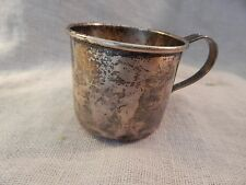 Vintage Antique Sterling Silver Juice Cup Lunt 52g Baby Cup