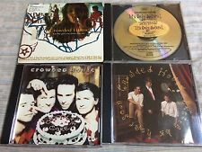 THE CROWDED HOUSE - 4 CD Singles Lots (Promo) / New Wave USA