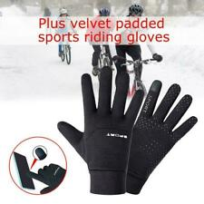 Football Gloves Kids Boys Waterproof Thermal Grip Outfield Player Sports S8T6