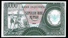 Indonesia RUPIA. 10,000, KWR 03510. 1964, Casi Universal-Universal.