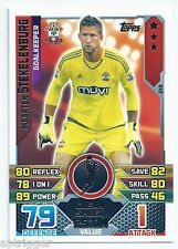 2015 / 2016 EPL Match Attax Base Card (218) Maarten STEKELENBURG Southampton