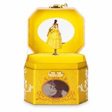 Disney Store Belle Beauty & Beast Musical Jewelry Box Dress Up Accessory Trinket