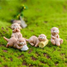 Loutre mignonne décoration jardin micro paysage ornement fée miniature artisaZH