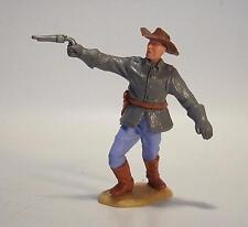 Timpo Toys Südstaaten 2. Vers Offizier mit Pistole