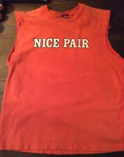 "Vintage T-Shirt ""Poker Nice pair"" Abercrombie Finch. Men's Med. 100% Cotton"