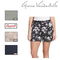 *New!* Gloria Vanderbilt Women's Nimah Classic Casual Belted Shorts VARIETY!